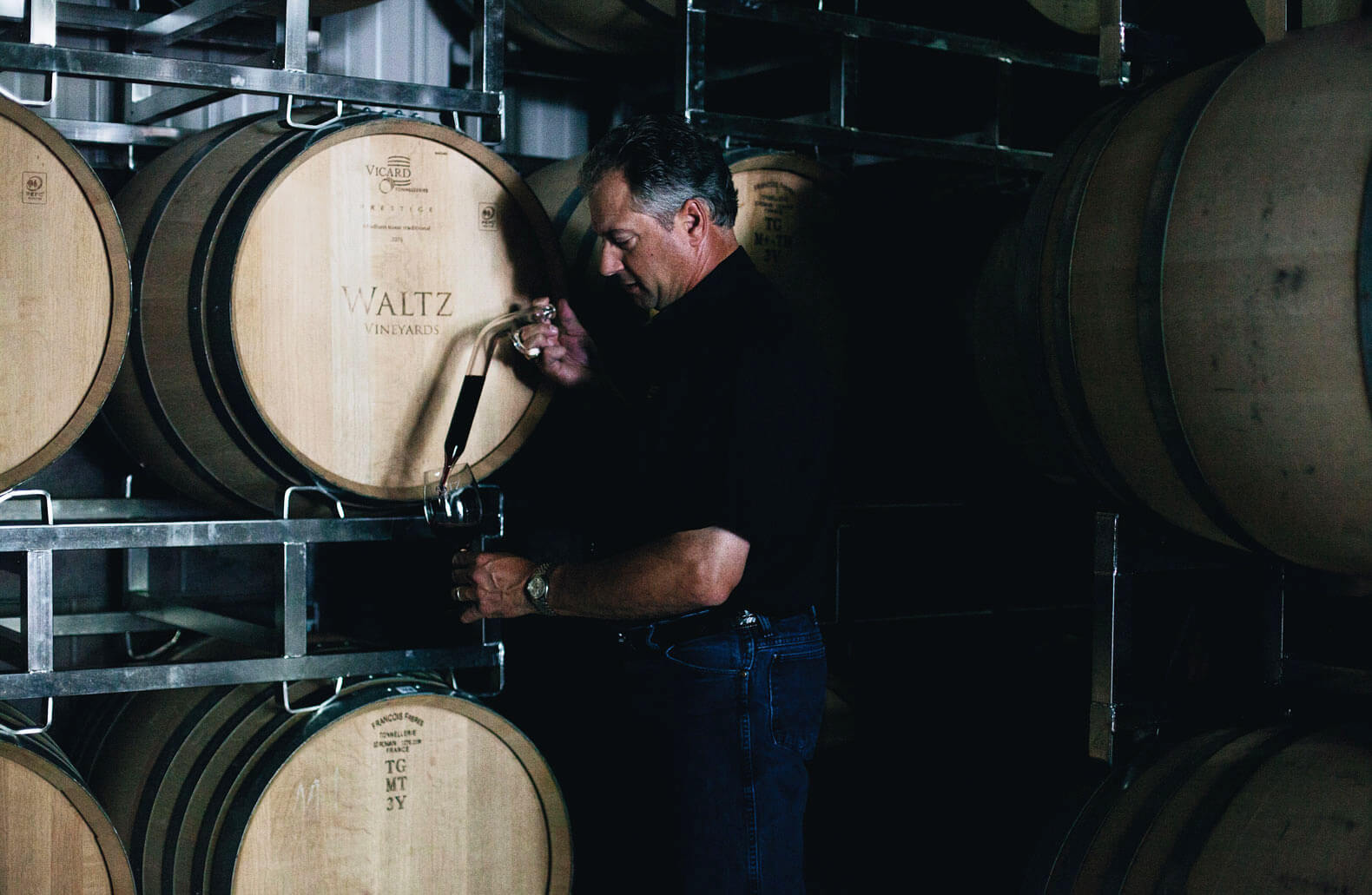 Jan waltz testing barrels